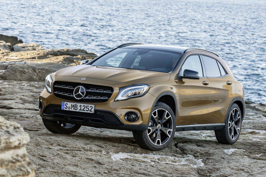 現行版 GLA250。 摘自 Mercedes-Benz