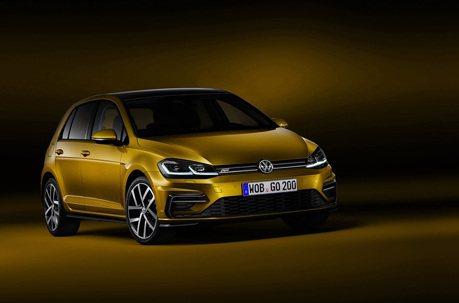 新VW Golf R-Line套件 純造型無動力加持