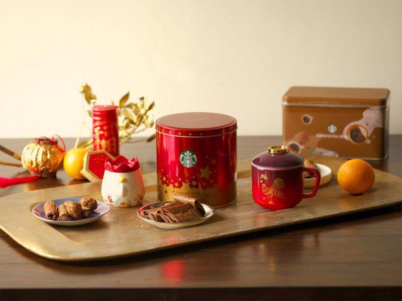 春節商品共有20多項包括:馬克杯、隨行杯、濾查緝等。