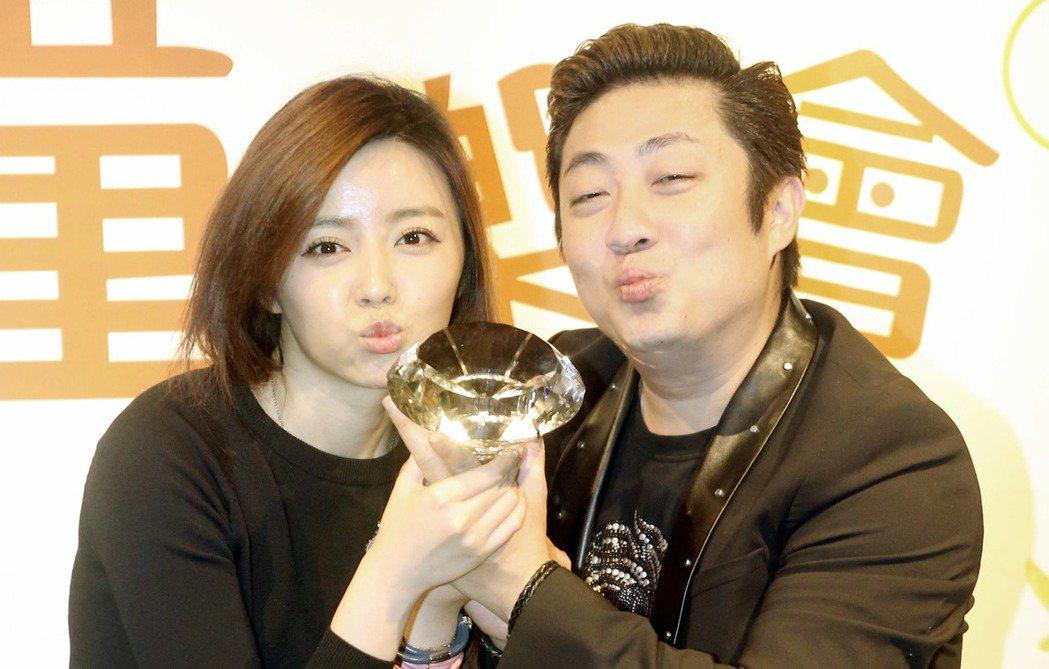 藝人王瞳(左)。記者屠惠剛/攝影
