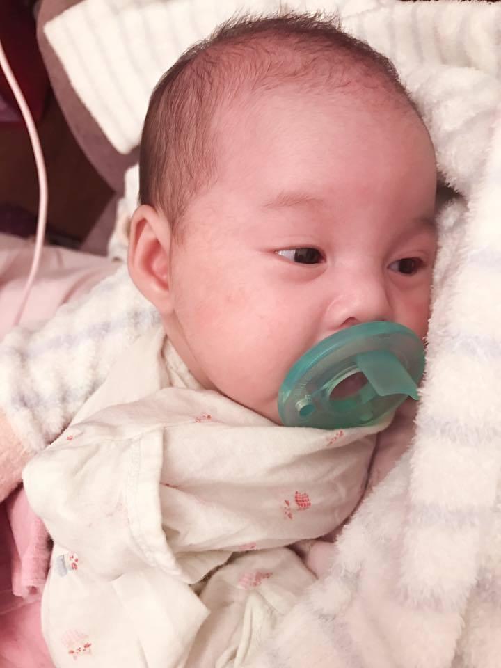 宋紀妍透露二女兒脹氣問題嚴重。圖/摘自臉書