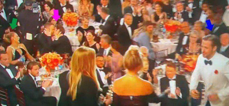 安德魯加菲與「死侍」萊恩雷諾斯接吻的影片引起熱議。圖/取自於Youtube
