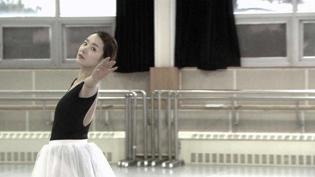 蘇怡賢戲中飾演芭蕾舞者。圖/東森戲劇台提供