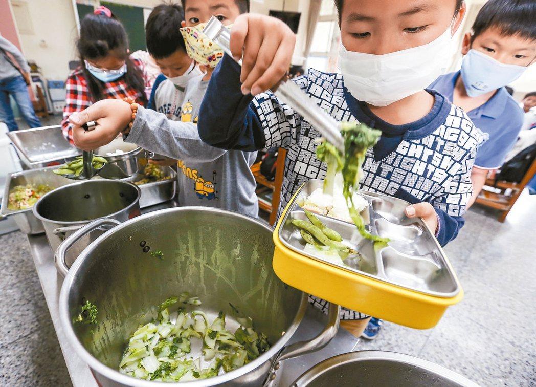 農委會推動國中小營養午餐使用國產可溯源食材,學校擔心沒人來標,營養午餐恐會沒著落...