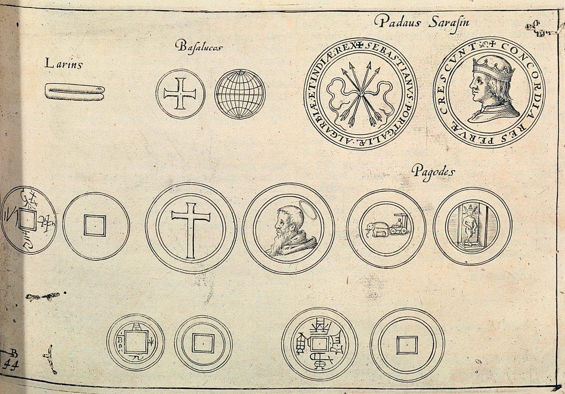 1646年Issac Commelin編寫出版的《荷蘭聯合東印度公司的起源與發展...