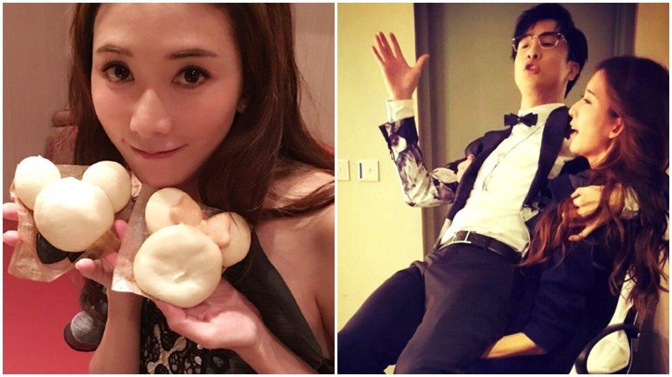 林志玲突然「公主抱」男星,背後卻有感人原因。圖/取自於微博