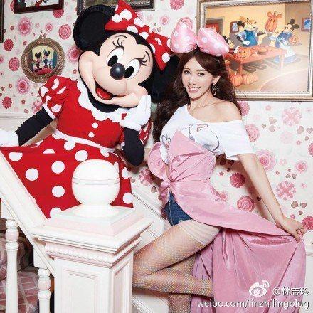 林志玲有著漂亮的外貌,也有一顆善良的心。圖/取自於微博