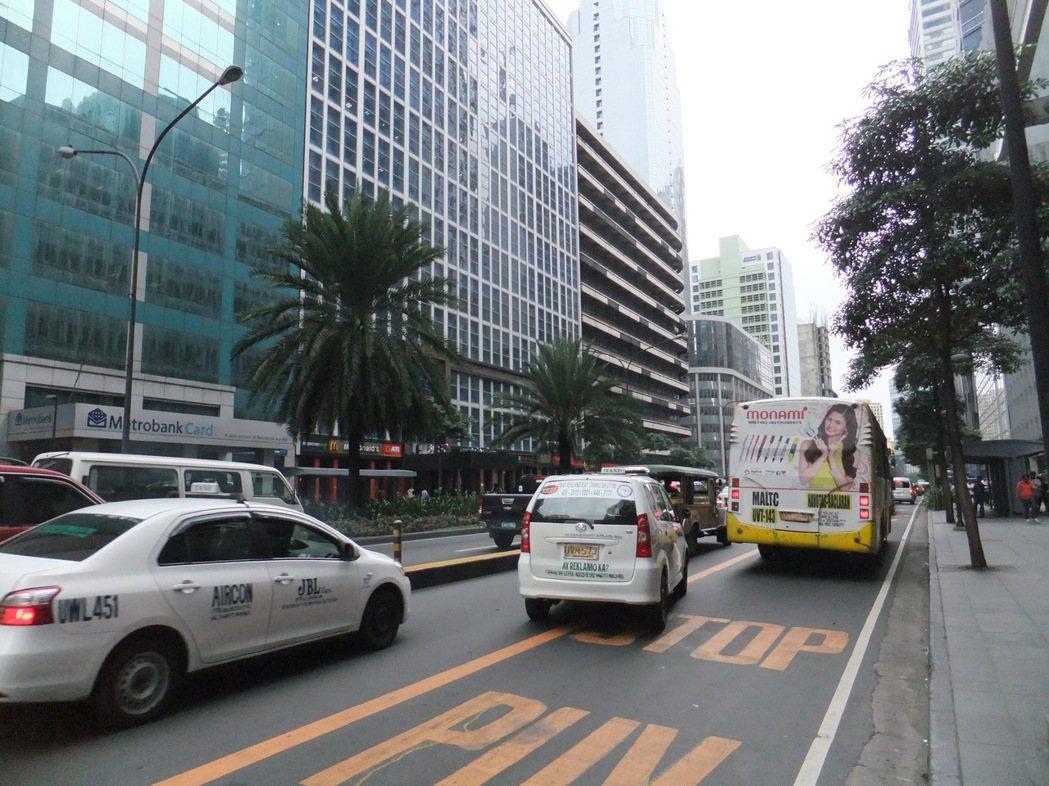 菲律賓街景 記者游智文/攝影