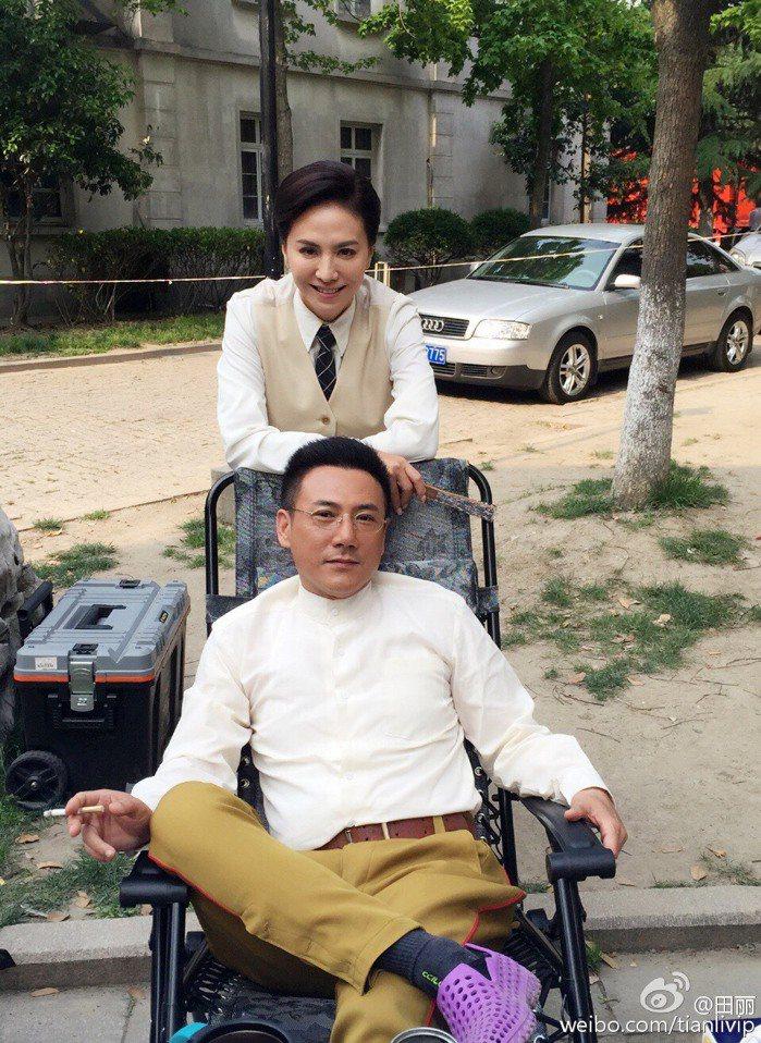 田麗與大陸演員李雨澤結婚2年喊切。圖/摘自田麗微博
