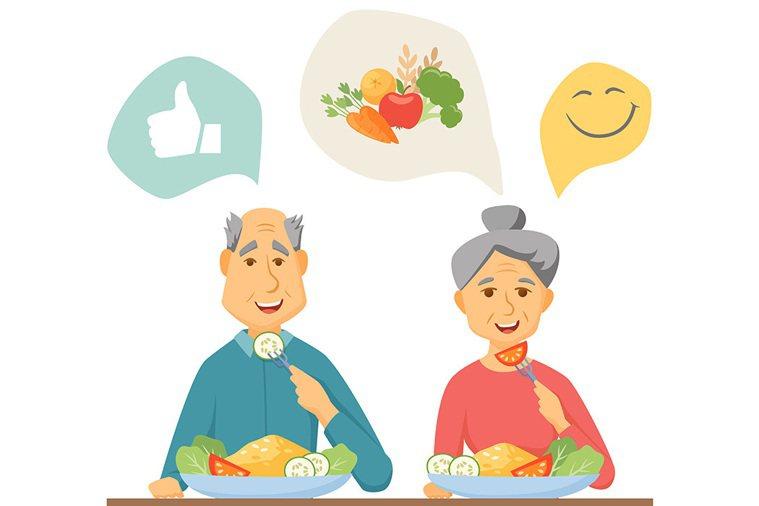 照顧失智症者應該特別注意其個別化的進食需求。 圖片/shutterstock