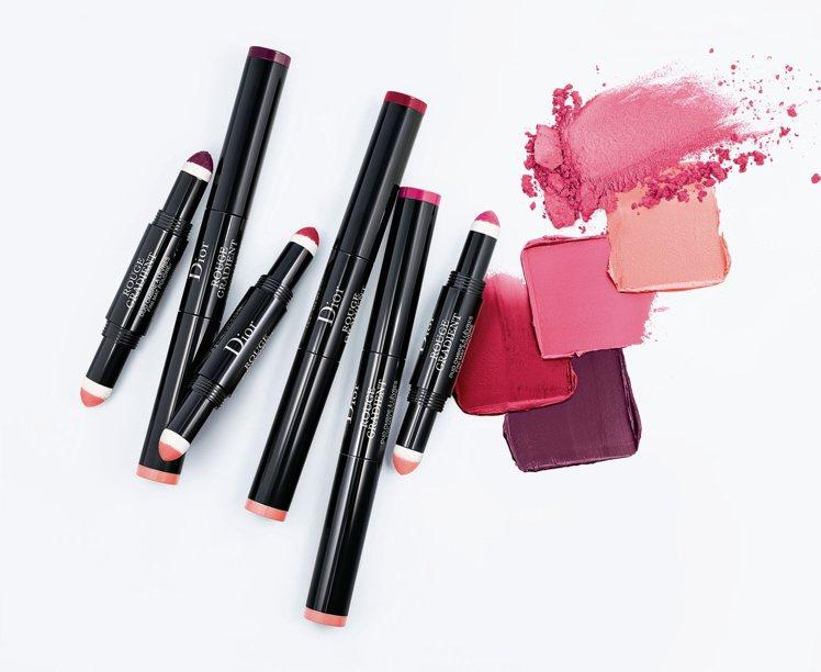迪奧雙效氣墊染唇筆,售價1,200元,共3色。圖/迪奧提供