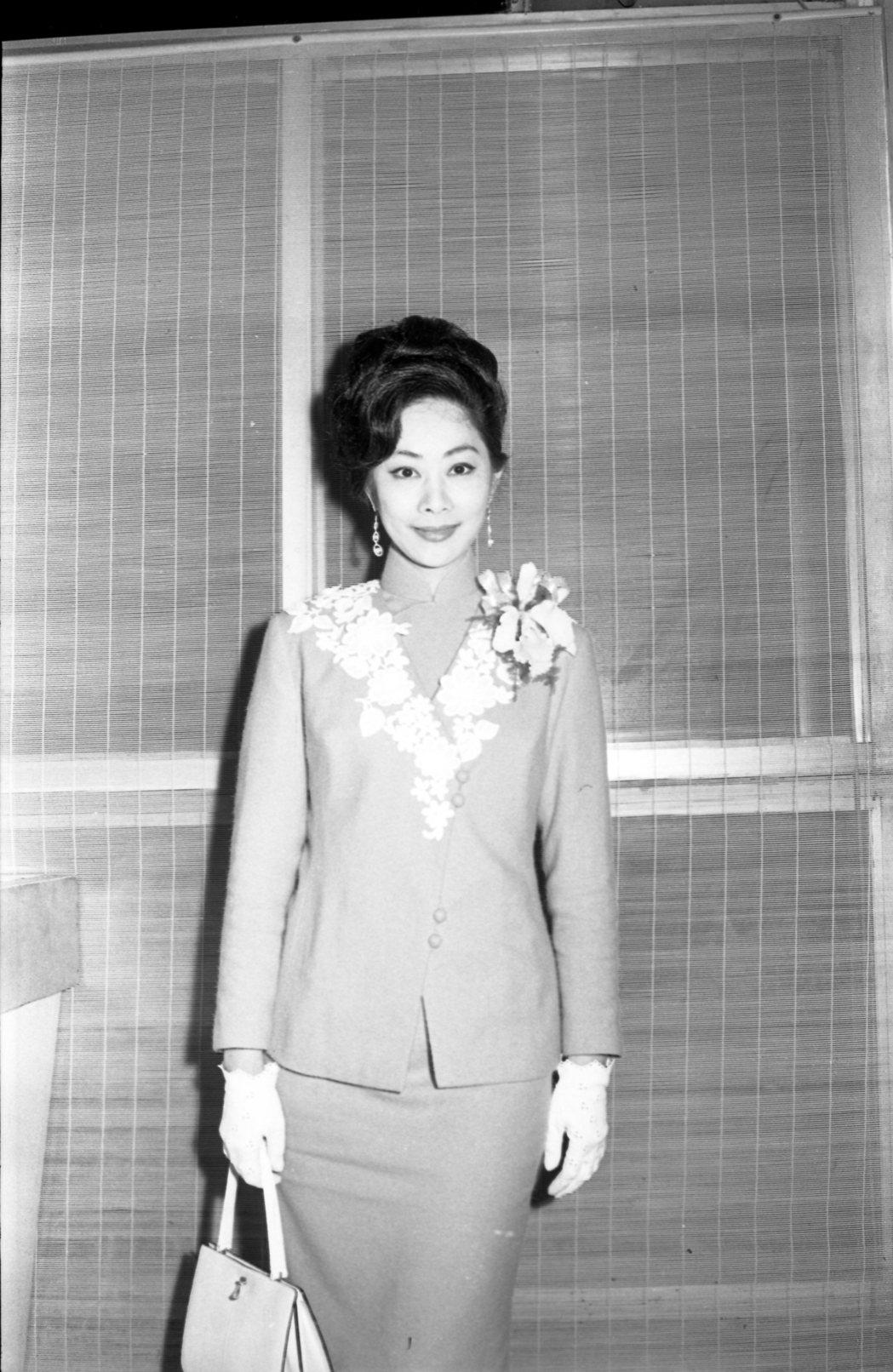 1967年時的盧燕。圖/本報資料照