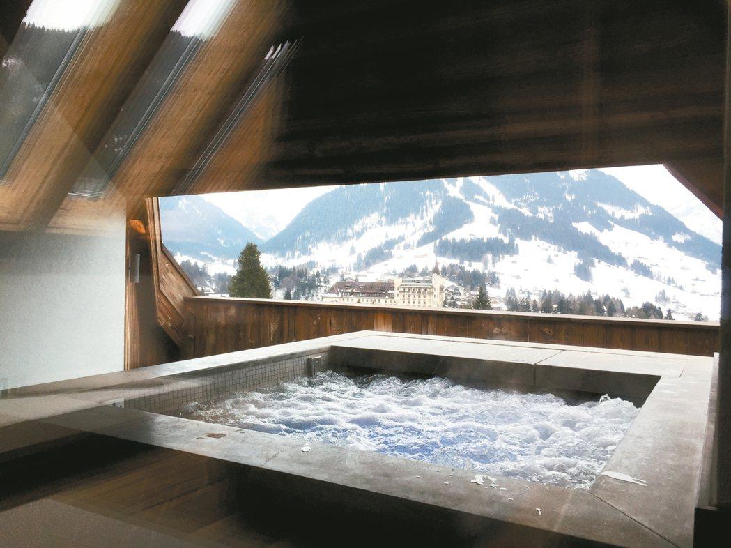 曾獲Villegiature Awards歐洲旅館大獎的瑞士The Alpina...