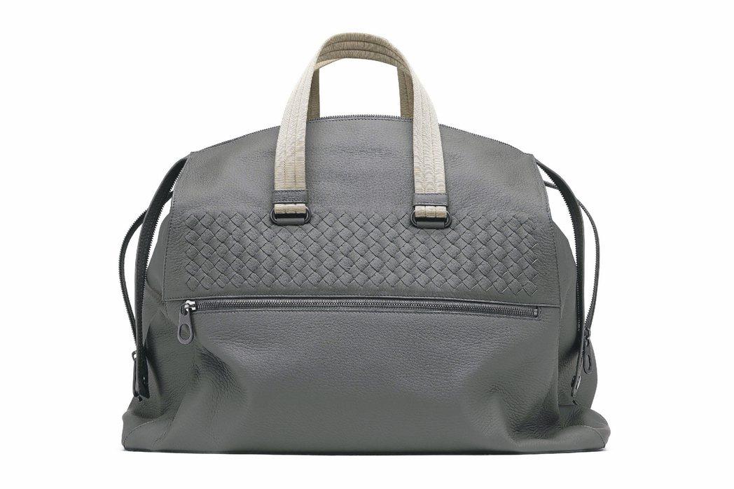 ●Bottega Veneta編織鹿皮旅行袋/132,100元 圖/各業者提供