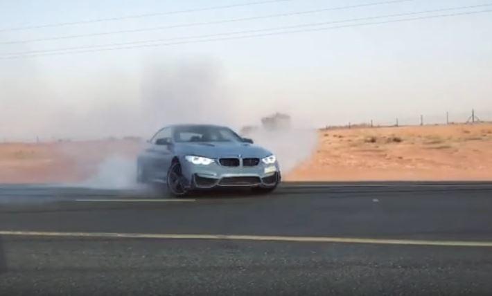 最近網路流傳一段中東駕駛開著 M4 甩尾 (Drift)影片,影片中除了在大直路上進行橫向飄移外,還繞行圓環路段做 360 度甩尾.... 摘自 Youtube