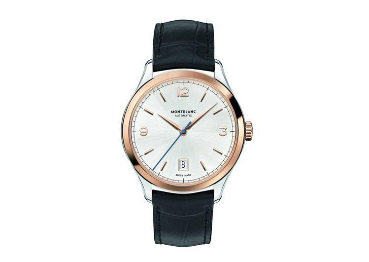 萬寶龍Heritage Chronometrie傳承精密計時系列玫瑰金自動腕錶,...