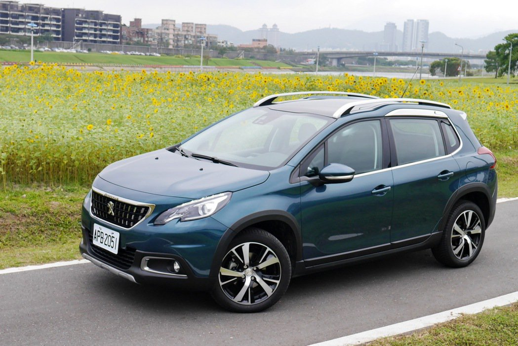 Peugeot 2008是市場上的法系跨界休旅代表。 記者陳威任/攝影