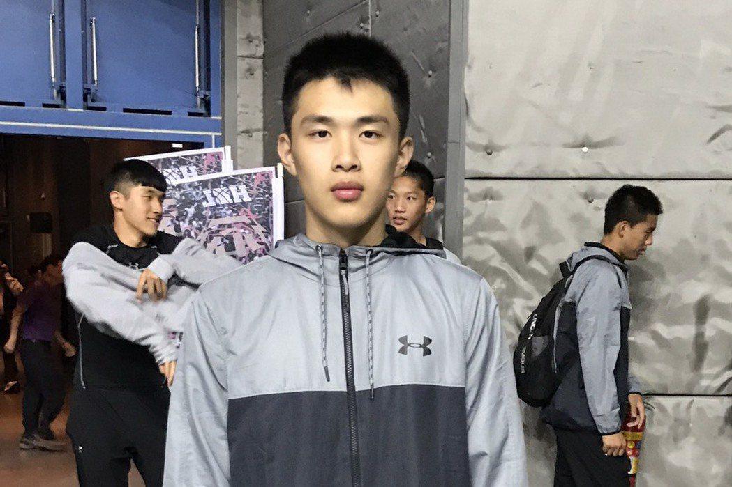 連威勝去年由松山轉戰青年,並成為球隊主要射手之一。記者劉肇育/攝影