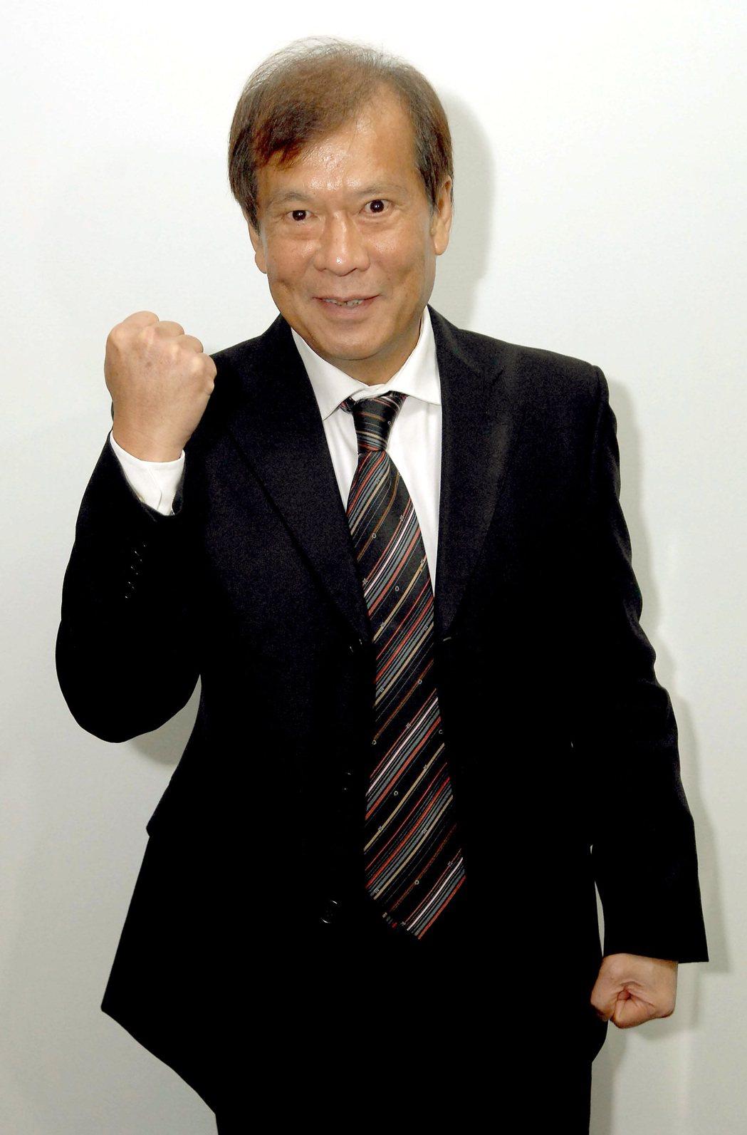 华视新任总经理郭建?。图/华视提供