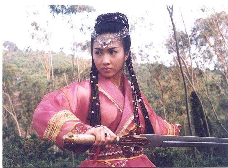 黎姿所飾演的趙敏被不少金庸迷認為是「最美趙敏」。圖/擷自網路