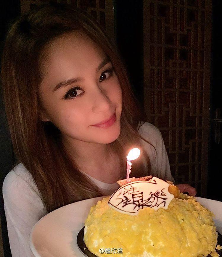 阿嬌滿36歲慶生,模樣依舊有如少女。圖/摘自微博