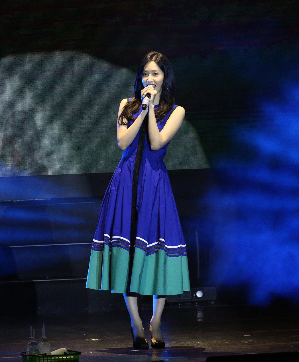 韓星潤娥來台會粉絲。記者陳瑞源/攝影