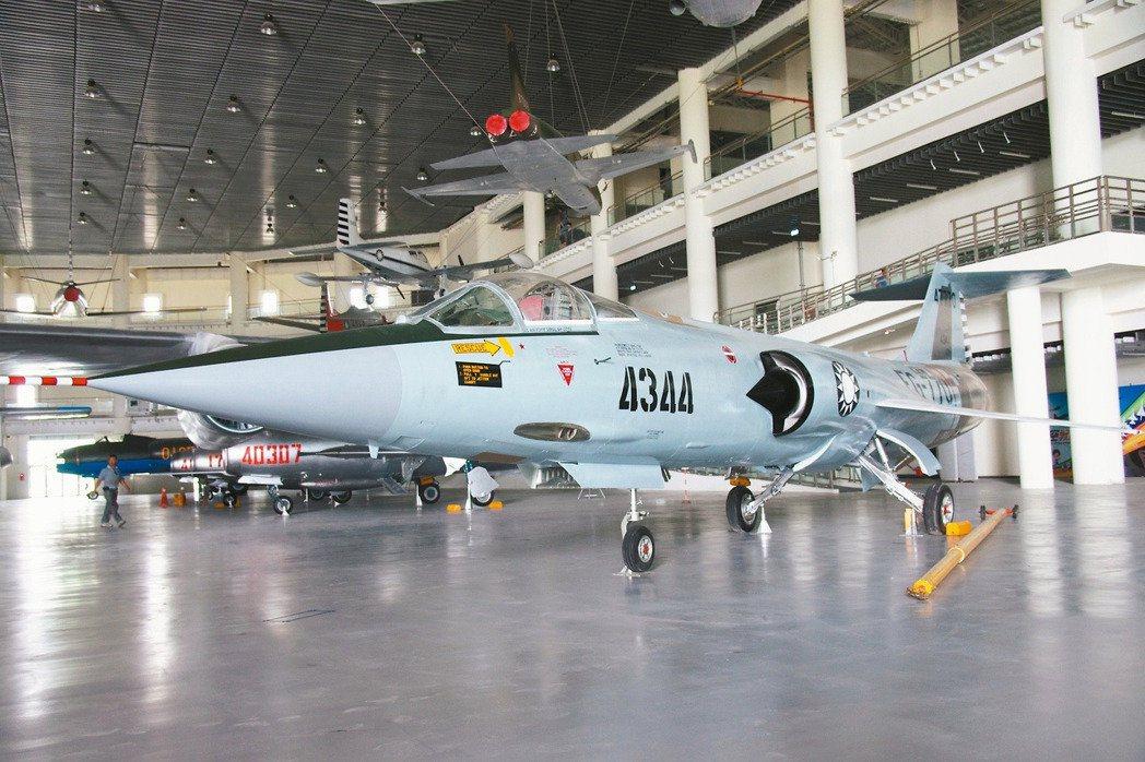 4344號F-104G,空戰當天石貝波的座機。記者程嘉文/攝影