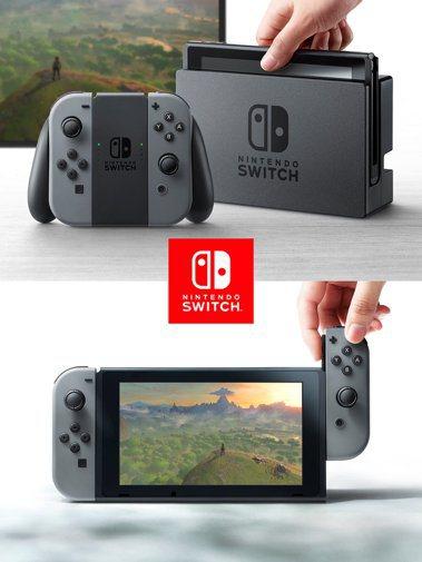 任天堂今天發表最新款主機Switch,期盼重振銷售。(路透)