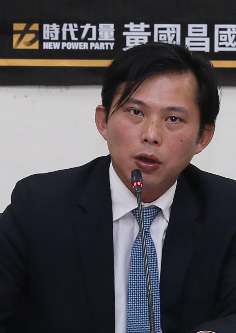 時代力量黨主席黃國昌。 圖/聯合報系資料照片