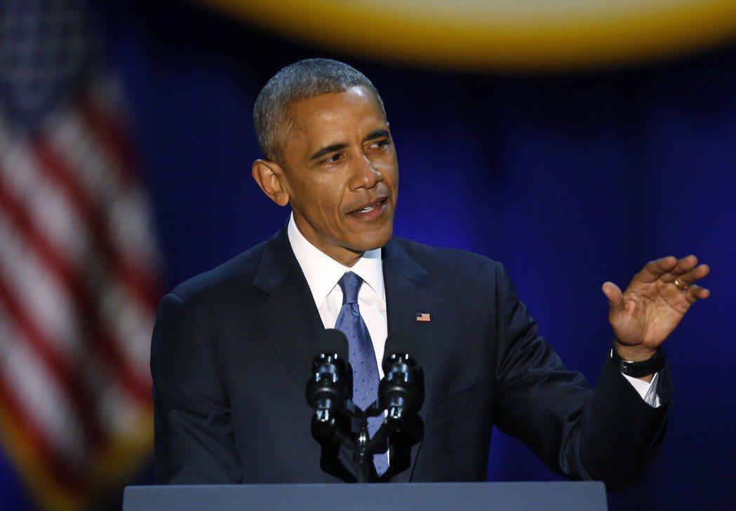 美國總統歐巴馬。圖/美聯社