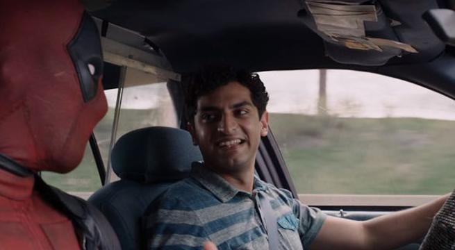 計程車司機Dopinder(右)將回歸「死侍2」。圖/福斯提供
