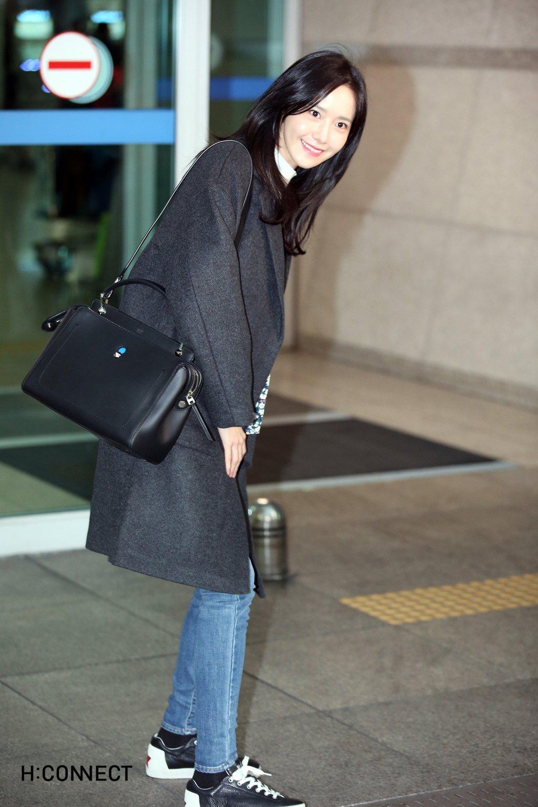 潤娥穿韓國平價服飾H:CONNECT飛抵台灣。圖/H:CONNECT提供