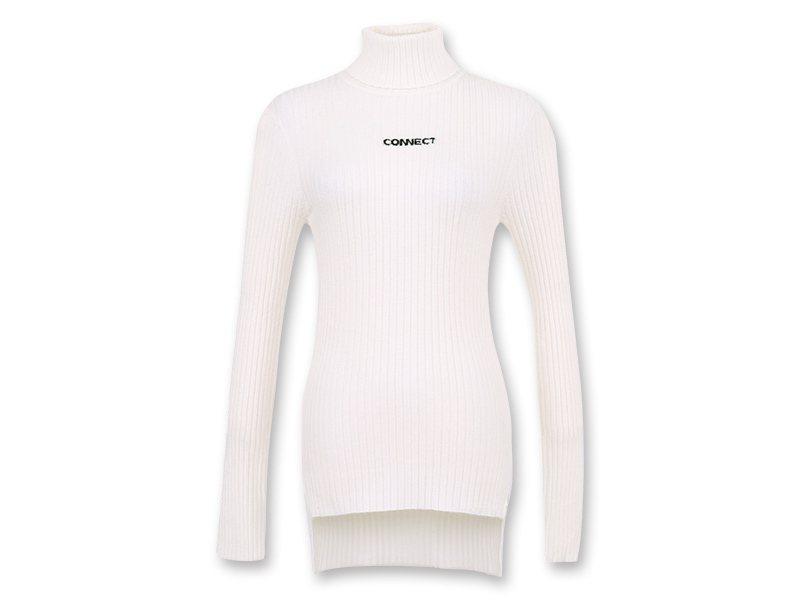 韓國平價服飾H:CONNECT純色套頭毛衣,740元。圖/H:CONNECT提供