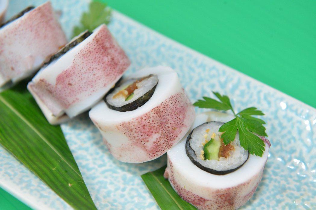 台博館推薦的2017永續年菜「鐵炮壽司」。圖/台博館提供