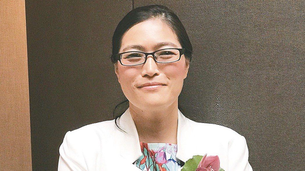 麗清董事長劉美秀。 記者邱馨儀/攝影