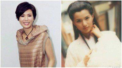李若彤曾以脫俗氣質被譽為「最美小龍女」。圖/取自於微博