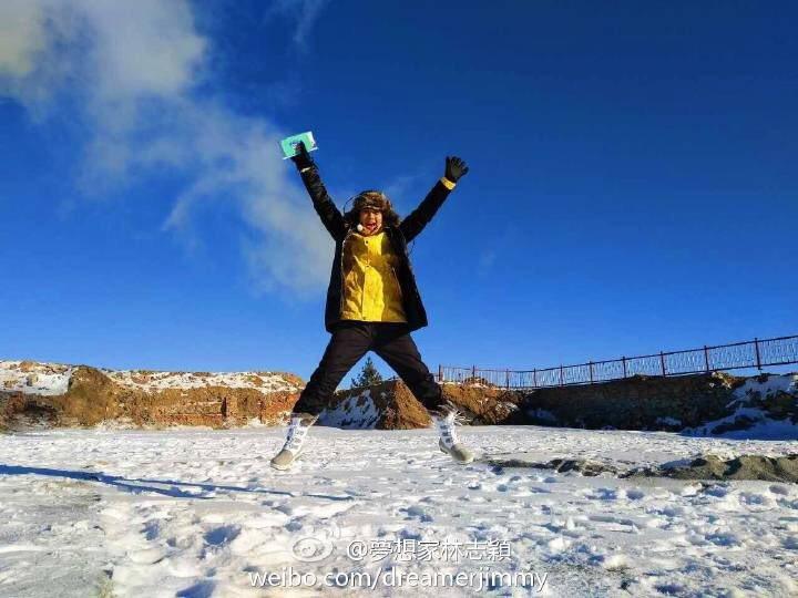 林志穎日前在冰上重摔幸無大礙,身體康復後又是生龍活虎。圖/摘自林志穎微博