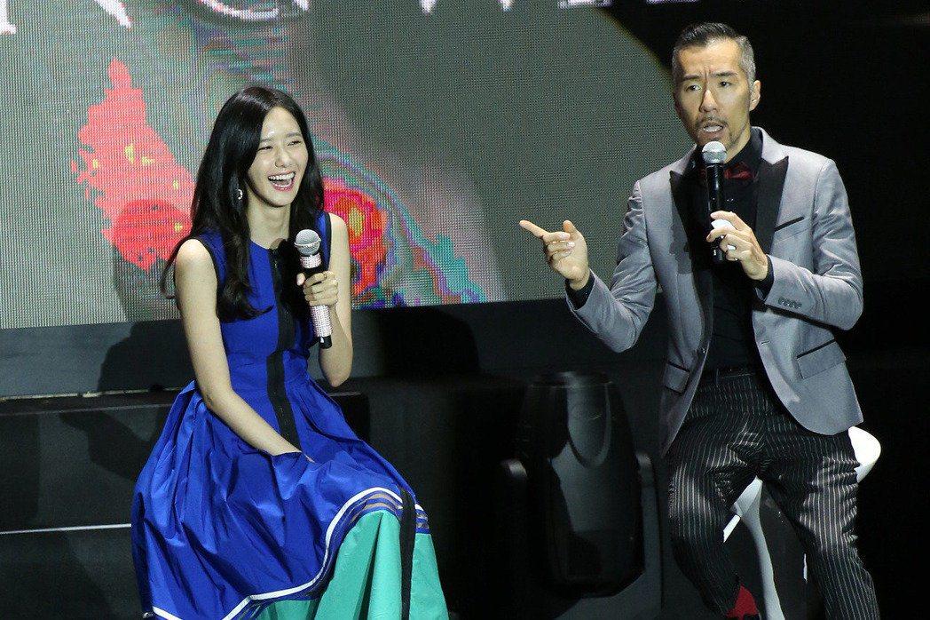 潤娥見面會只有主持人張兆志被粉絲肯定。圖/本報資料照