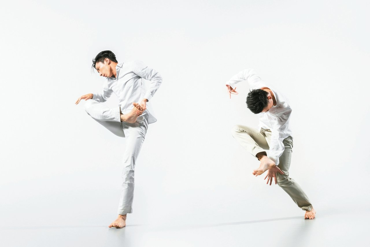 編舞家黃懷德創作的「亮」。 李佳曄/攝影