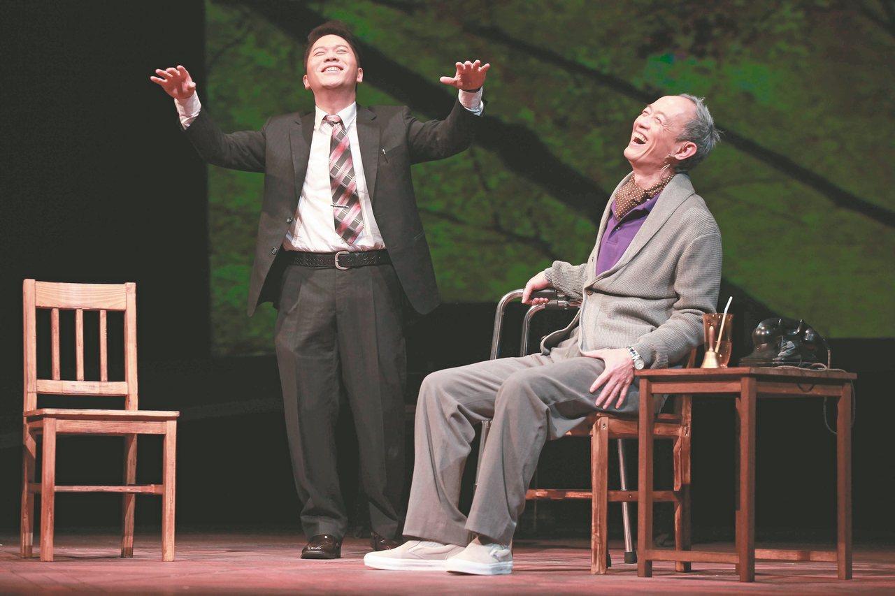 果陀劇場由金士傑、卜學亮主演的《最後14堂星期二的課》自2011年演出至今,近六...