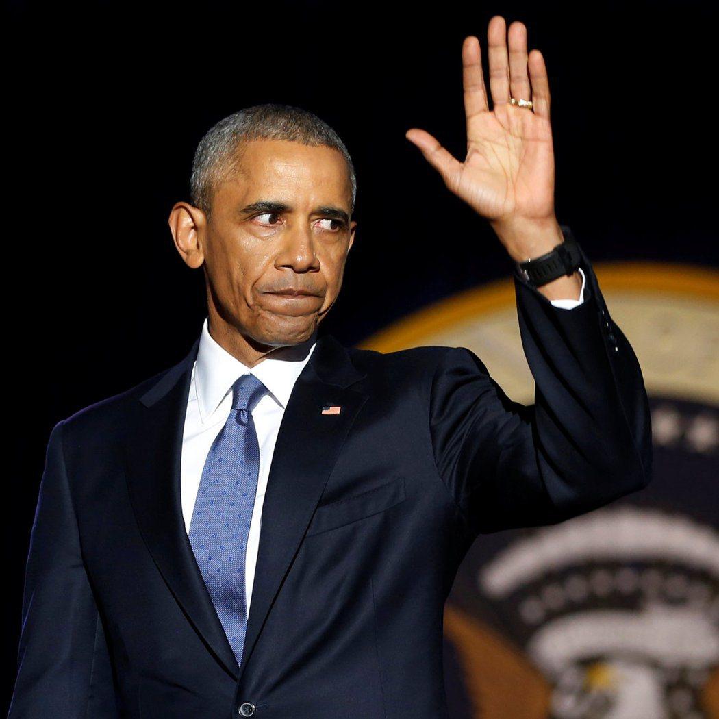 川普即將入主白宮,美國總統歐巴馬在訪談中隔空傳授心法,並透露當總統就得靠「厚臉皮...