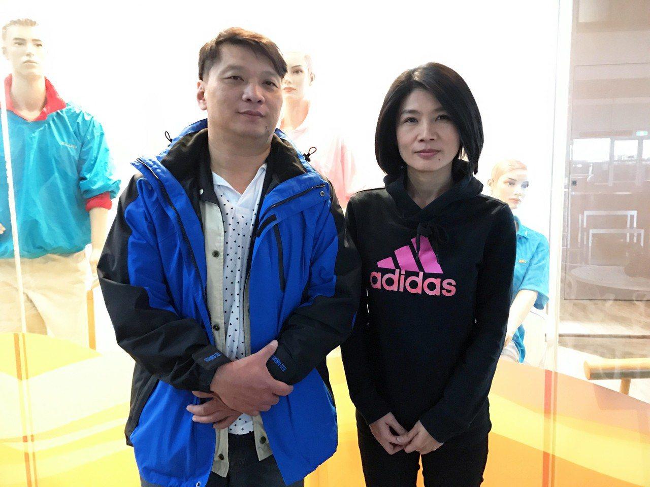 夫妻檔侯俊良、吳麗瓊。記者周宗禎/攝影