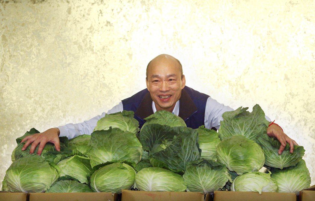 北農總經理韓國瑜12日宣布參選國民黨主席,並表示已用雙掛號向北農董事會遞出辭職信...