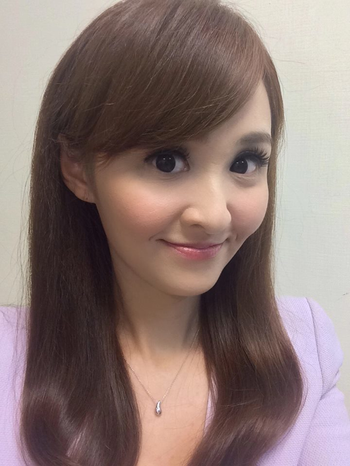 陳家頤是台視眾多美女主播之一。圖/摘自陳家頤臉書