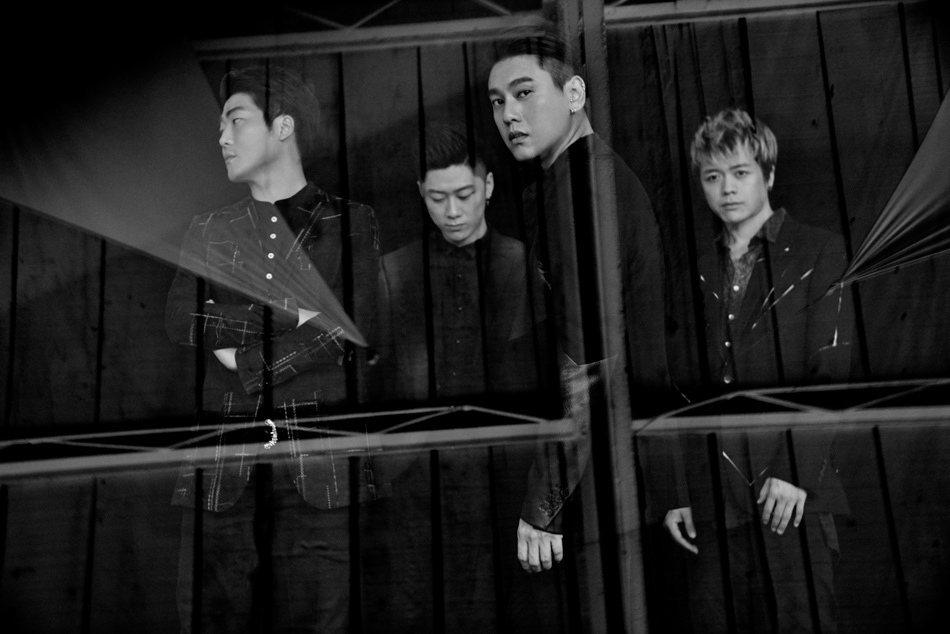 朱孝天宣布組「啟點樂隊」,F4早已是過去式。圖/朱孝天官博提供