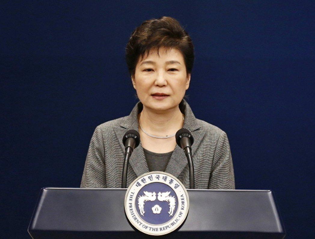 南韓總統朴槿惠。美聯社資料照片