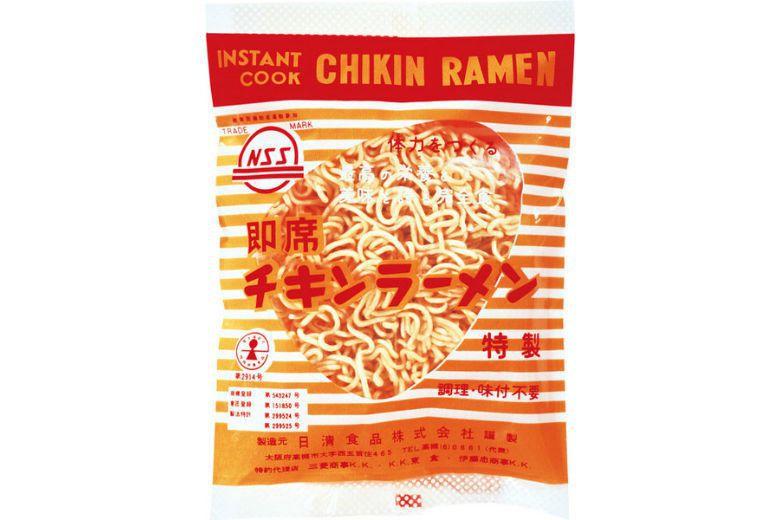 安藤百福在1958年推出全球第一包泡麵「雞絲拉麵」。 圖/取自日清食品
