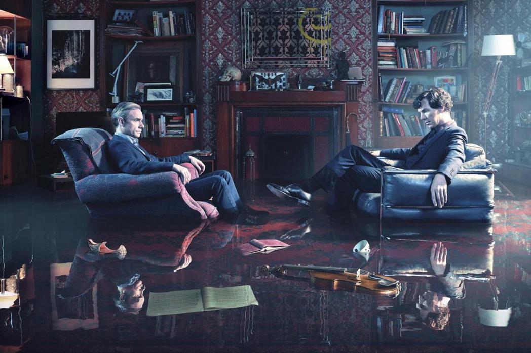 「新世紀福爾摩斯」第4季中,兩位主角的關係有變化。圖/摘自imdb