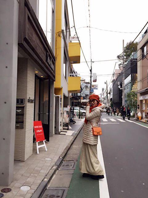 陳美鳳日前赴東京旅遊充電。圖/摘自陳美鳳臉書