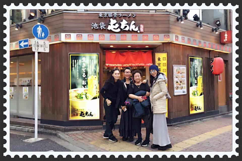 陳美鳳和好姐妹藍心湄赴東京旅遊,好友散心充電,生活如此美好。圖/摘自陳美鳳臉書